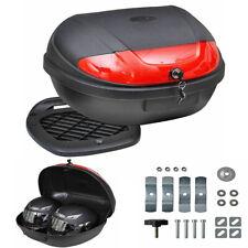 Motorradkoffer Top Case Roller Rollerkoffer Koffer Motorradtasche 72L für 2Helme