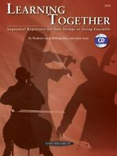 Learning Together: Sequential Repertoire for Solo Strings BASS FREE SHIPPING