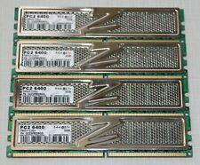 OCZ 8GB (4X2GB) PC2 6400 DDR2 800 NON-ECC DESKTOP MEMORY