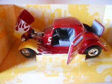 1934 Ford Coupe 1/24th WIX MIB Candy Apple Red A Beauty