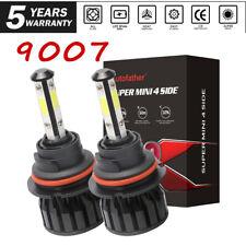 4-Sides 9007/Hb5 Led Headlight Kit High Low Dual Beam Bulb 2000W 3000000Lm 6000K (Fits: Neon)