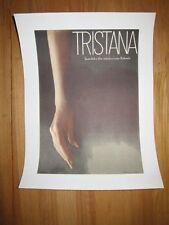 TRISTANA Luis Bunuel Catherine Deneuve Original 1972 Czech poster Linen backed