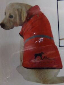 Luxury Dog.Com Red Light-Weight Red Reflective Hoodie Vest NEW