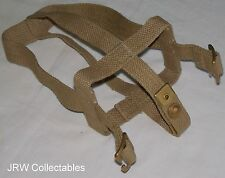 "British Army:""1937 Ptn WEBBING WATERBOTTLE CRADLE"" (WW2 Pattern, Undated)"