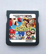 482 In 1 Video Game Cartridge Console Card For Nintendo NDS NDSL NDSI 2DS 3DS