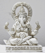 Rare Lord Ganesh Ganesha Beautiful Statues Hindu Good Luck God - 4.5 Statues