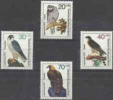 Timbre Oiseaux Rapaces Allemagne Berlin 407/10 ** lot 16699