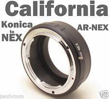 Konica AR Sony E-mount NEX NEX3 NEX5 NEX7 NEX5N NEX-C3 NEX-VG10 Alpha 7 Adapter
