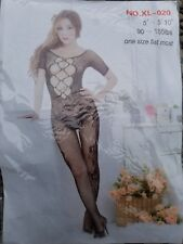 PINK Modern FISHNET Sexy Body Suit. one size fits all
