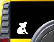 """Koala little Heart Decal 6"""" Sticker *J499*"""