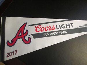 Atlanta Braves Baseball 2017 Pennant, New