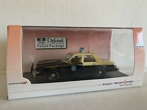 FIRST RESPONSE FRR FLORIDA HIGHWAY PATROL DODGE DIPLOMAT FHP STATE POLICE CAR