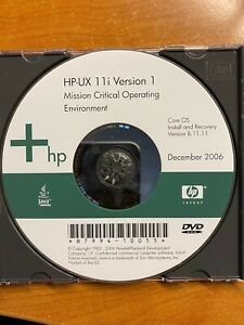 HP-UX 11i Version 1 Core OS Version B 11.11 Mission Critical Operating Environ
