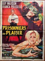 Plakat Kriegsgefangene Du Plaisir Lsd Flesh Of Devil Guy Madison Dope 120x160cm