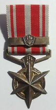 South African Police Medal for Combating Terrorism with Bar. Named