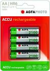 AgfaPhotoPilas Recargables AA Blister x4 NiMH 2100 mAh 1.2 V AA/HR6 - 4x1