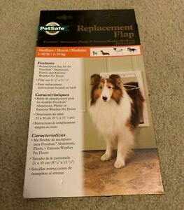 PetSafe REPLACEMENT FLAP for Extreme Weather or Freedom Dog Door Medium