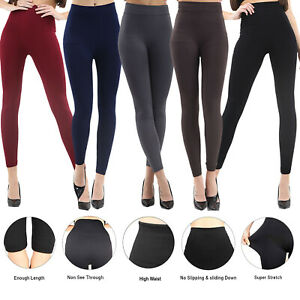 Womens High Waist Yoga Leggings Ladies Stretch Fitness Sports Pants Trouser Lot