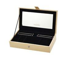 Pandora Leather Jewelry Box Luxury Charm Bar Mirror Embossed Limited Edition XL