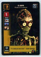 Star Wars Young Jedi CCG 1x Foil C-3PO Anakin's Creation F5 LP/LP+