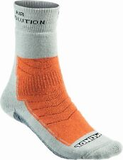Meindl Damen und Herren Revolution Sock PRO Socken grau / orange
