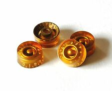 Aged Speed Knobs Gold True Historic GuitarSlinger Parts Fits To Les Paul ®