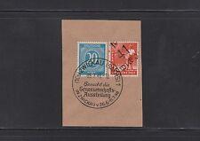 Gebiet SBZ BPP-Signatur Briefmarken aus Deutschland (ab 1945) mit Briefstück