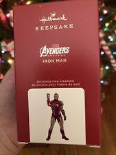 2020 Hallmark Iron Man Marvel Studios Avengers Endgame Keepsake Ornament