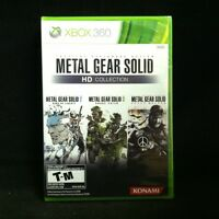 Metal Gear Solid HD Collection (Microsoft Xbox 360, 2011) BRAND NEW