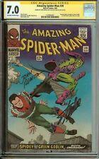Amazing Spider-Man #39 Signed Stan Lee & John Romita CGC 7.0