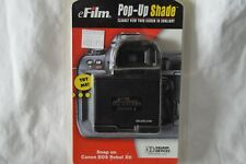 Black eFilm DC400D-S  Delkin Pop-up Shade Screen Shade for Canon EOS Revel Xti