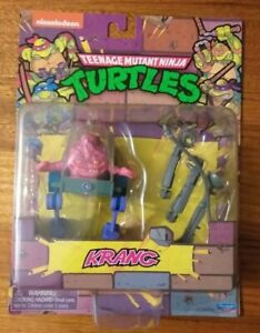 Nickelodeon Teenage Mutant Ninja Turtles Krang Reissue Classic Action Figure Toy