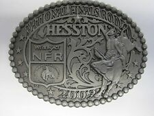 National Finals Rodeo Hesston 2009 Youth (small) NFR Cowboy Buckle New AGCO PRCA