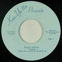 "modern soul gospel boogie 7"" ROGER JESSUP Stand In Storm Saints Go ♫ Ken-Yatta"