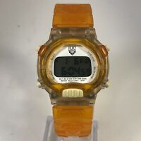 Roxy Womens RXD100 Orange Quicksilver Quartz Analog Digital Wristwatch