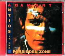 Adam Ant : Antics in the Forbidden Zone CD (1990) and Ants- Antmusic/Rap