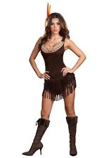 SEXY POCAHONTAS COSTUME SIZE SMALL (with defect)