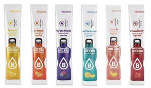 Bolero Sugar Free Drink 12 Sticks  Low Calorie, Diabetic,Low Carb, 26 Variations