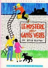Le mystère des gants verts // Enid BLYTON // Bibliothèque Rose // Série Mystère