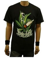 Weed Marijuana HIGH LIFE Cannabis Pot Printed Graphic T-Shirt Fashion Urban Tee