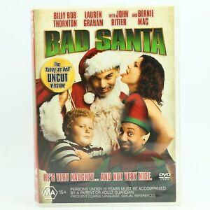Bad Santa (DVD, 2005) Billy Bob Thornton Bernie Mac Lauren Graham GC