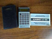 Vintage Calculator Casio LC-88