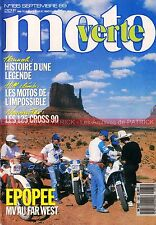 MOTO VERTE 185 HONDA CR 125 YAMAHA YZ KAWASAKI KX SUZUKI RA Bob HANNAH 1989