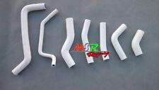 for Kawasaki KX450F KXF450 2009 2010 2011 2012 silicone radiator hose white