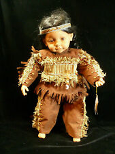 Limited Edition Kening Ma Doll – 1 Of 3000 – Native American Indian Named Myrtle