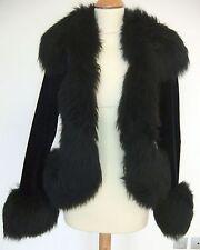 Vivienne Westwood Nero Donna Vintage jacket-very RARA collectable-very CHIC