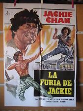 A3213 La furia de Jackie Jackie Chan, Siu Tien Yuen, Dean Shek, Kwok Choi Hon, B