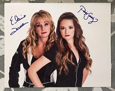 Elaine Larsen & Paige Sanchez Signed IHRA 8 X 10 Photo Jet Drag Racing