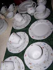 seltmann weiden,bayreuth,streublümchen,5 kaffeegedecke ,3 teller,milch, zucker