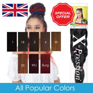 X-Pression Xpression Ultra Braid Pre-Stretched Hair KANEKALON